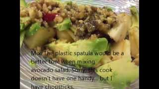 Easy Avocado Salad Recipe - Avocado, Apple And Jicama Salad
