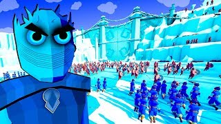 TABS Game Of Thrones Night King vs Jon Snow Battle of the Wall - Totally Accurate Battle Simulator