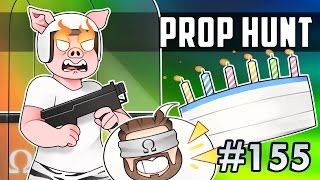 THE CAKE IS A LIE, DIRTY WRENCHES! | Prop Hunt #155 Funny Moments Ft. Vanoss, Wildcat, Marcel + More
