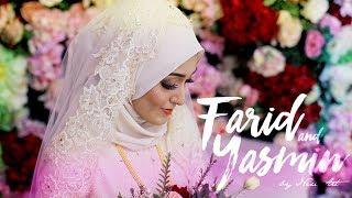 INDIAN MUSLIM WEDDING : Dr. Farid+Dr.Yasmin // Mehndi & Solemnization By NEXT ART