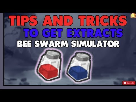 Roblox Bee Swarm Simulator Tips Get Robux How Bee Swarm Simulator How To Get Extract Tips And Tricks Youtube