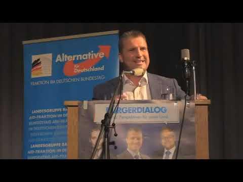 Martin Hess beim Bürgerdialog »Perspektiven für unser Land« vom 04.09.2020 in Mannheim