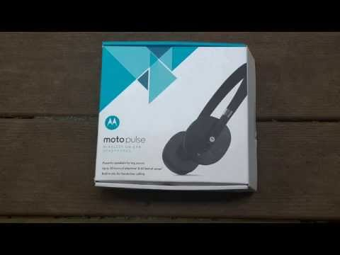 Moto Pulse Wireless On-Ear Headphones Review!