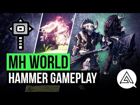Monster Hunter World | New Hammer in Depth Gameplay