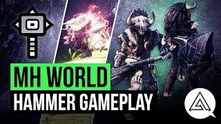 Monster Hunter World | New Hammer in Depth Gameplay