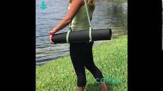 Alça de Paracord para Yoga Mat