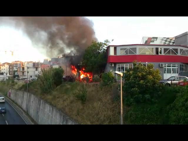 Eksplozija u Vukovarskoj ulici u Splitu