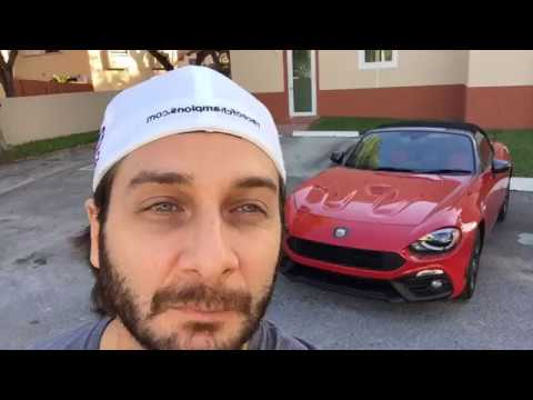 Fiat 124 Spider Abarth 2017 - A Bordo En Vivo