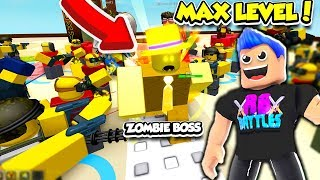 I GOT ALL MAX LEVEL TROOPS ET BECAME OP IN TOWER DEFENCE SIMULATOR!! (Roblox)