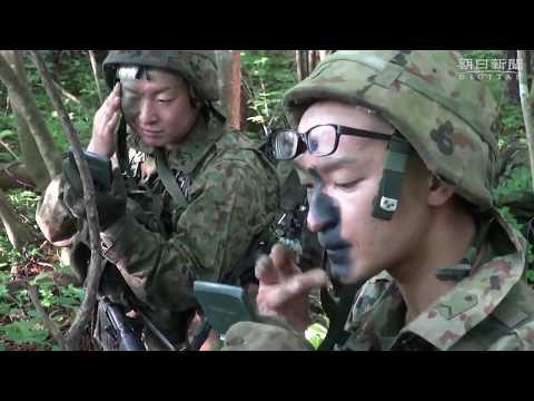 陸上自衛隊 過酷な レンジャー養成訓練 終えて帰還 福島