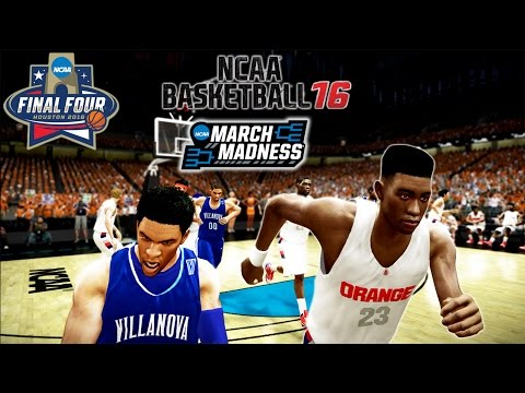 NCAA BASKETBALL 16 Championship Game! | VILLANOVA TOO CRAZY!