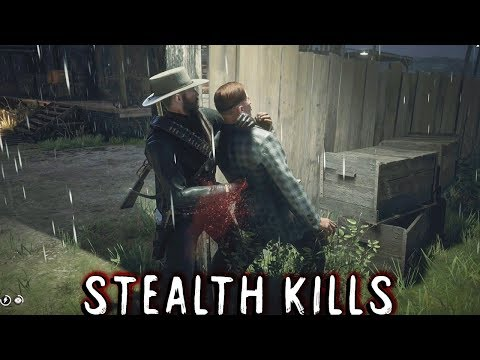 Red Dead Redemption 2: Stealth Gameplay - Bounty Hunting & Action Moments - Vol.5
