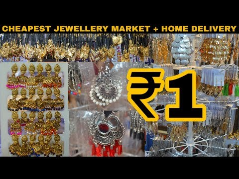 Wholesale earrings & jewellery market | Cheapest Price | Sadar bazar | Delhi