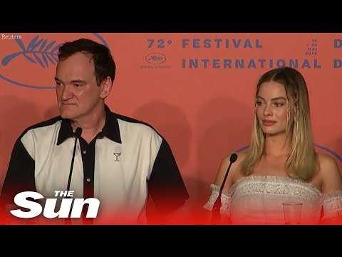 Quentin Tarantino hits back over Margot Robbie's lack of
