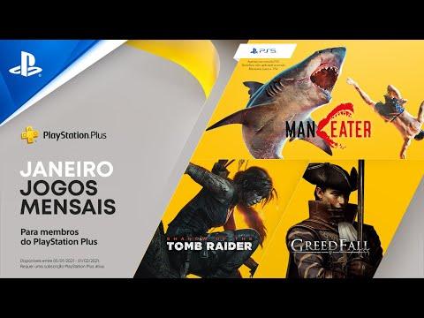 MODO PlayStation | JOGOS PLAYSTATION PLUS (JANEIRO 2021)