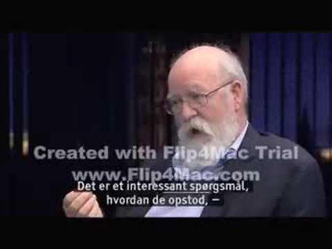 Daniel Dennett on Danish TV (Part 2/3)