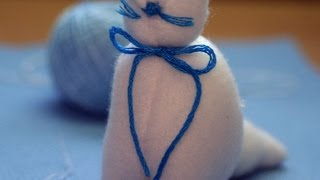 Make An Adorable Stuffed Toy Cat - Diy Crafts - Guidecentral