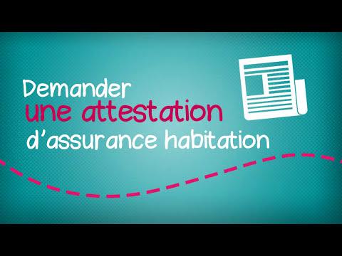 Mon espace client habitation MAAF n°2 : Demander une attestation d'assurance