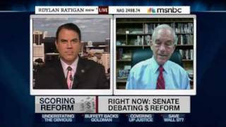 5/3/10 Ron Paul and Alan Grayson with Dylan Ratigan: Audit the Fed!