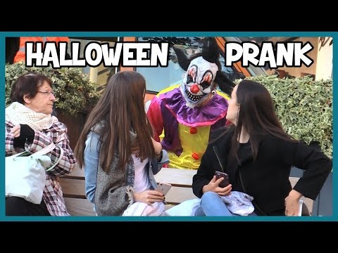 Faire peur en clown tueur - Halloween Prank - Les Inachevés