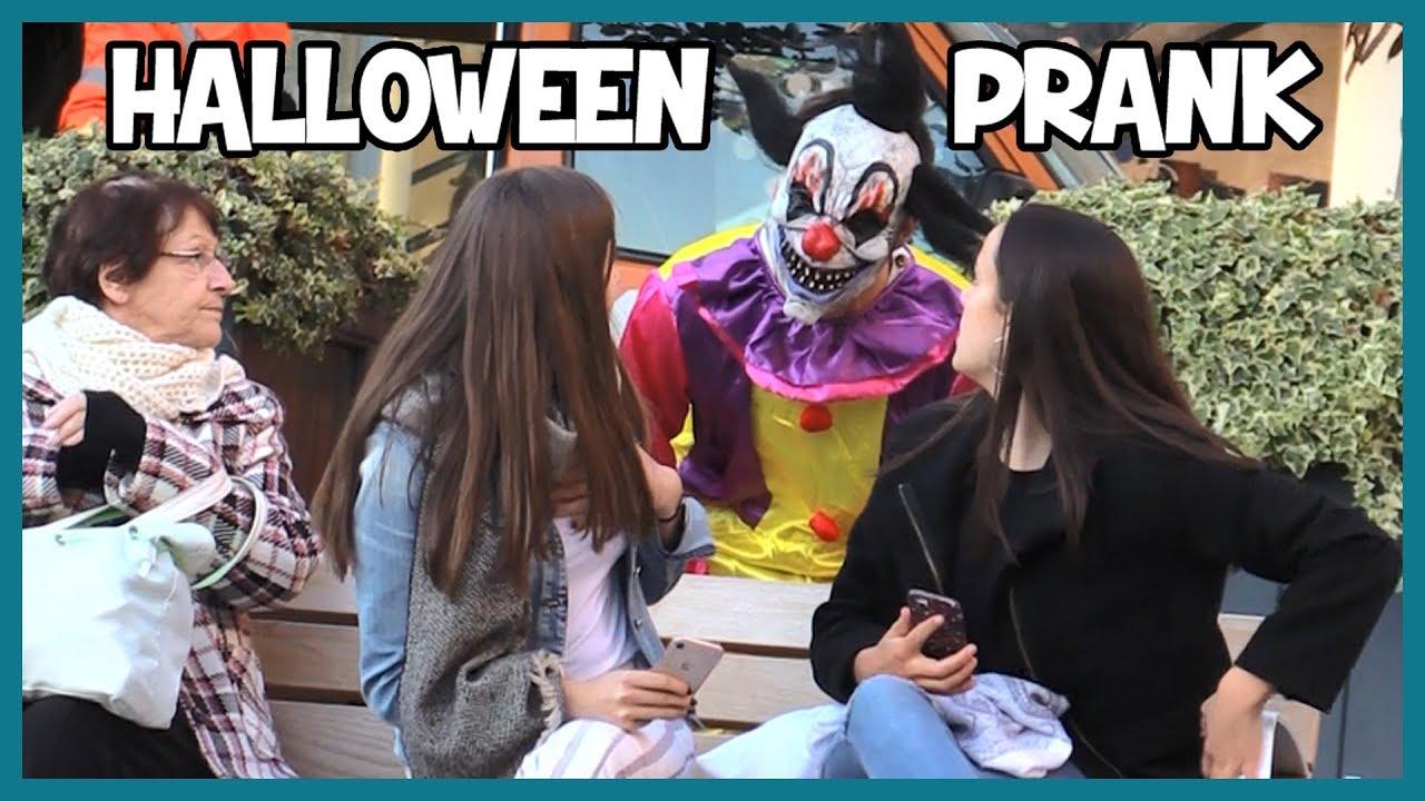 Faire peur en clown tueur - Halloween Prank - Les Inachevés #1