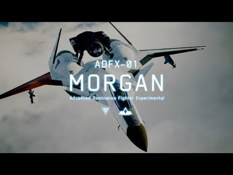 Take flight with the mighty ADFX-01 Morgan, now available in Ace Combat 7