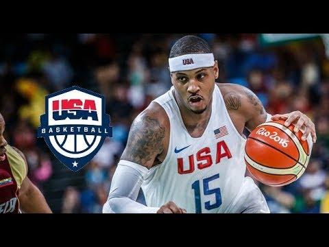Carmelo Anthony Team USA Offensive Highlights (2016)