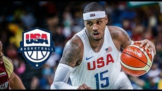 Carmelo Anthony Team USA Offensive Highlights (2016) thumbnail