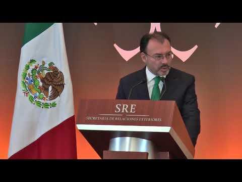 Discurso inaugural del  Dr. Luis Videgaray Caso en la REC 2018.