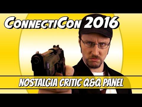 ConnectiCon 2016 - Nostalgia Critic Q&Q Panel