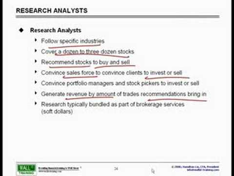 WST: Overview of Financial Mkts - Equity Research