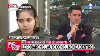 Lomas de Zamora: Le robaron el auto con sus hijos adentro