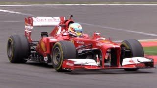 Ferrari F1 F138 Ex. Alonso - PURE V8 SOUNDS!! thumbnail