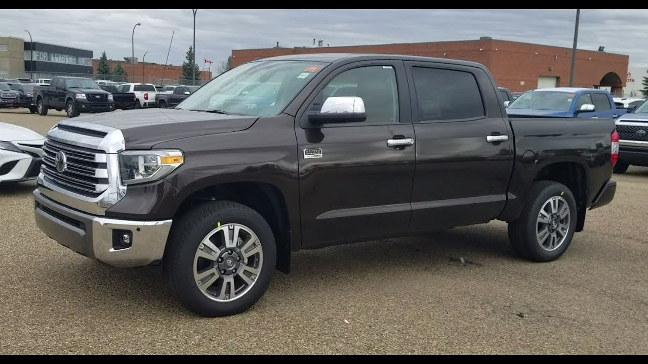 Toyota Tundra. Features and description