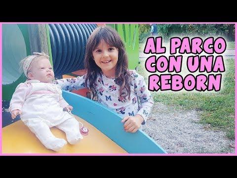 🎀 Al parco con una bambola reborn 🎀