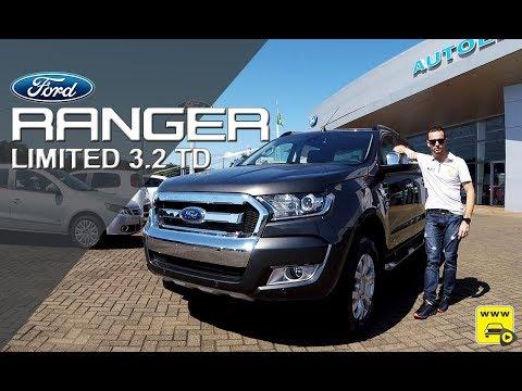 Ford Ranger Limited 3.2 Turbo Diesel em Detalhes