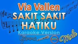 Via Vallen Sakit Sakit Hatiku MALE Karaoke Tanpa Vokal by GMusic