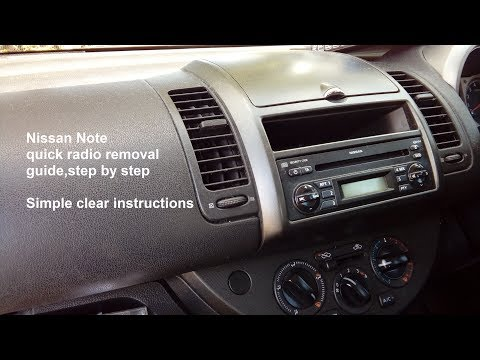 How To Get Your Nissan Radio Code (Micra, Qashqai, Note ...