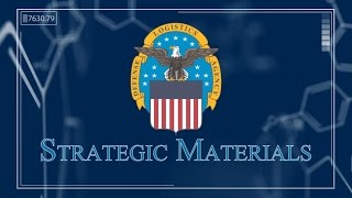 dla strategic materials supporting the present looking toward the future