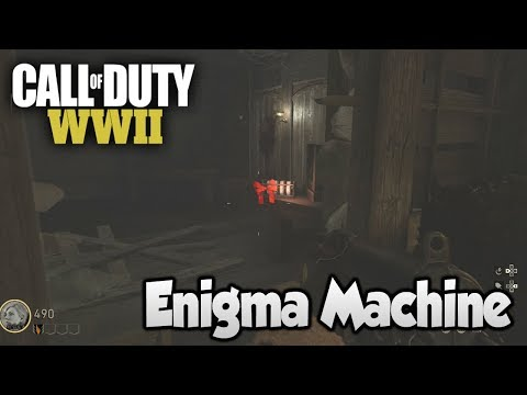 COD WW2 Zombies The Final Reich - Easter Egg Step 2 (Enigma Machine Code)