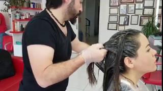 Profesyonel Saç nasıl boyanır Haarfärbung