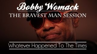 """Bobby Womack & Damon Albarn Perform """"Whatever Happened To The Times"""" - 1 of 4"""