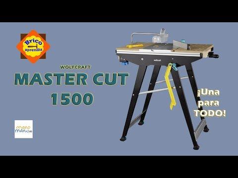 Unboxing, montaje y prueba de la Mesa Master cut 1500 de Wolfcraft