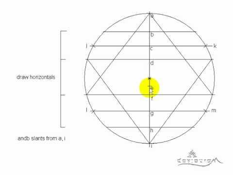 How To Draw Sri Chakra Part 1 Youtube