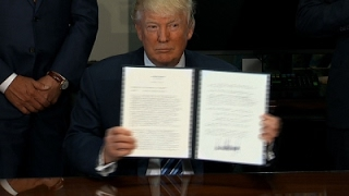 Trump Orders Review of Obama Tax Regulations