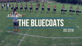 A DAY WITH TΗE BLUECOATS | DCI 2016