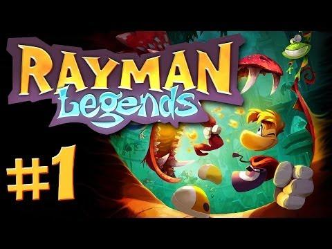 Rayman Legends Gameplay #1 - Let's Play Rayman Legends German