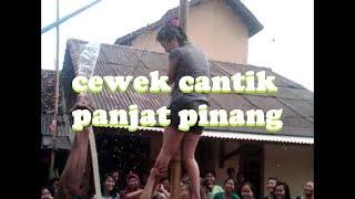Download Mp3 Cewek Cantik Lomba Panjat Pinang Bikin Gagal Fokus
