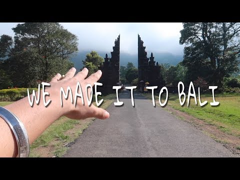 | WE MADE IT TO BALI | BALI VLOG EP 1 | FT NOFILTR |