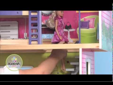 Casita my modern dollhouse de kidkraft en eurekakids youtube - Casa munecas eurekakids ...